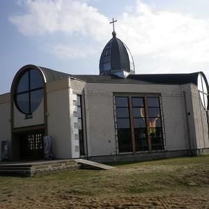 Okna aluminiowe Kościół