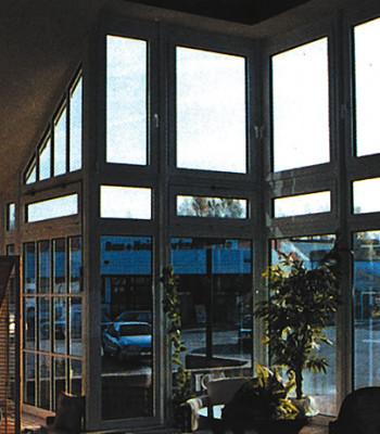 Okna PCV skośne