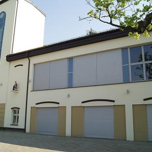 Okna, drzwi, rolety w Miejskim Centrum Kultury w Bełchatowie