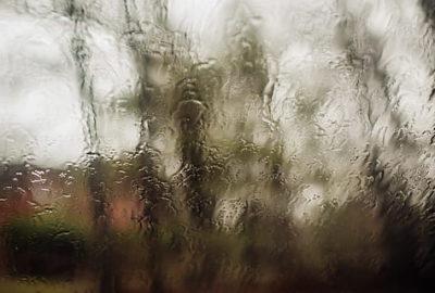 zamglone okno